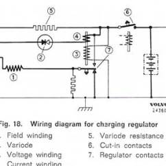 Auto Charging System Wiring Diagram Carrier 30rb Sw Em Amp Indicator On Simplified