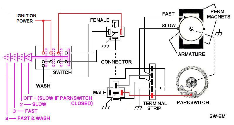 rear wiper motor wiring diagram stihl ms 270 parts 2004 replacement and switch blog data