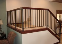 interior metal railings Gallery