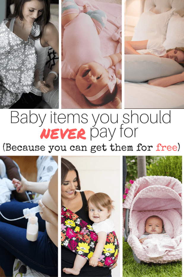 Baby Gear You Should Never Pay For (Because They're FREE!)
