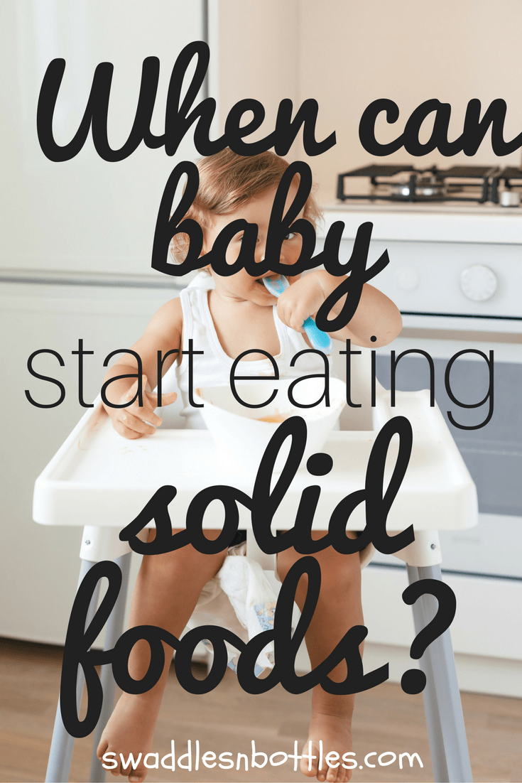 When Can Baby Start Eating Solid Foods?