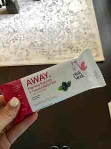 Pink Stork Away Bars to Fight Morning Sickness