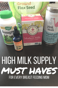 High Milk Supply Must Haves for all Breast Feeding Mamas