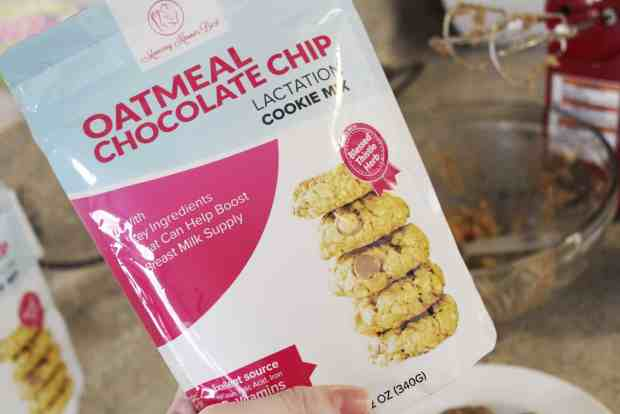 The BEST pre-made lactation cookie mix.