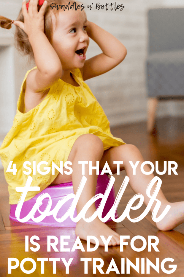 4 Signs that your toddler is ready for potty training