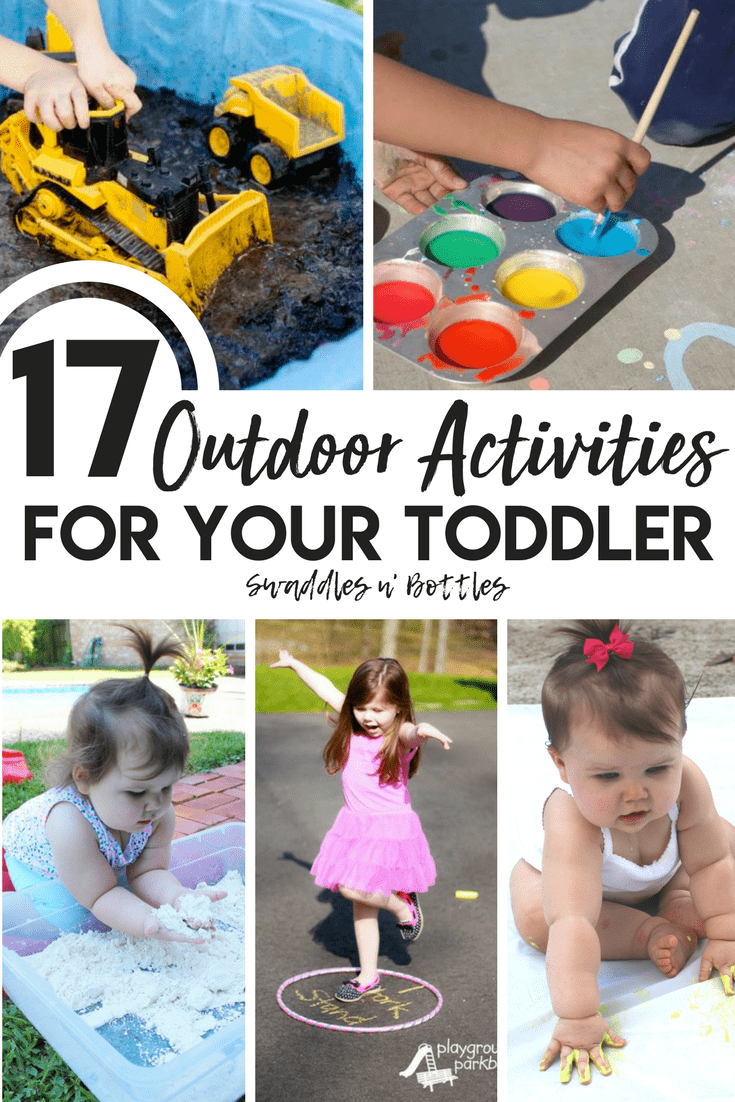 17 outdoor activities to do with you kiddos this Spring and Summer! Easy sensory activities for toddlers and kids.