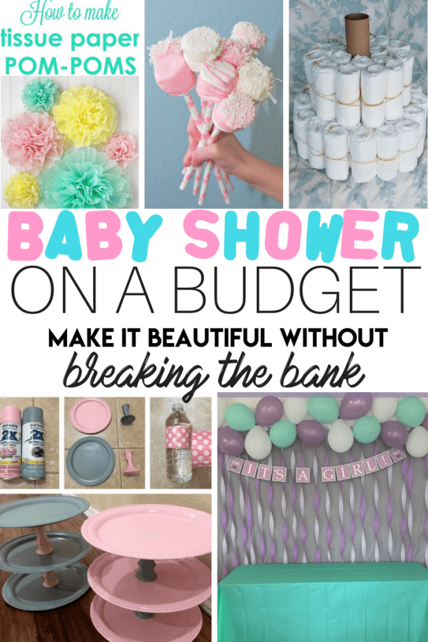 Baby Shower on a Budget. How to throw a beautiful party for little money!
