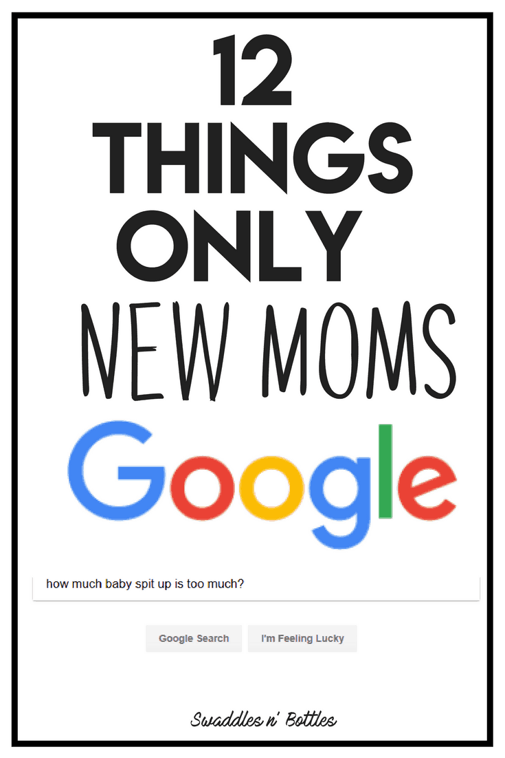 A new moms Google history can be pretty hilarious. Never again have you Googled about poop, spit up, sleep, crying and so much more.