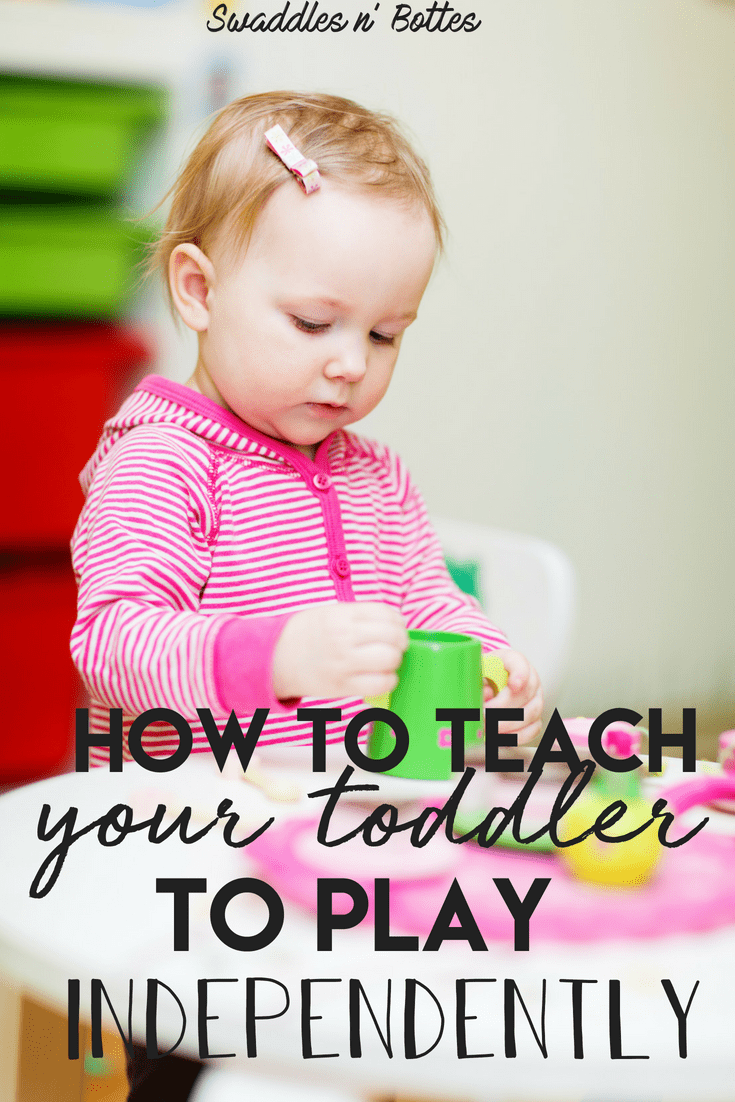 Teaching your toddler to play independently has so many benefits. It helps build their self-confidence, curiosity and gives their imaginations a chance to flourish. Here are simple steps to ease your child into playing solo.