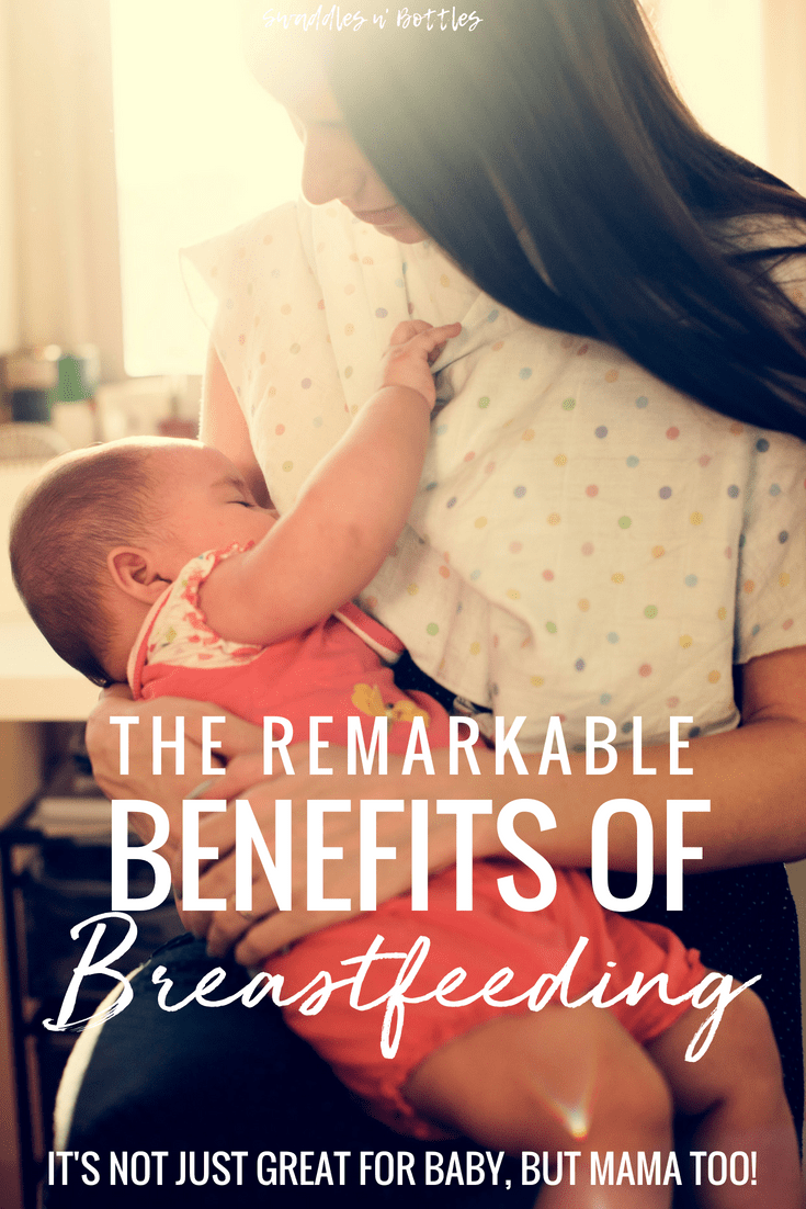 They don't call it liquid gold for nothing! There are so many remarkable benefits for both mom and baby from breastfeeding. A must read for any expectant mother. Such great motivation to keep on nursing and/or pumping!