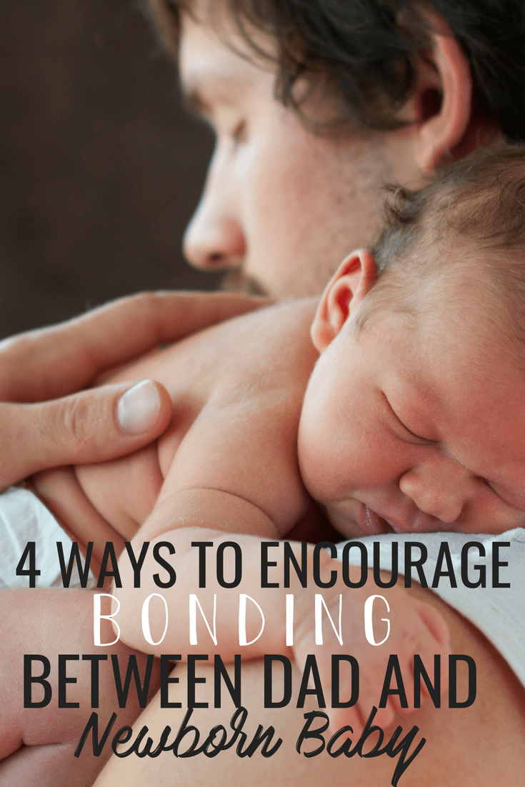 4 ways to help your newborn baby and their father bond. Here's how you can get him involved, encourage him, remind him that you are confident in his as a father! Must read for expectant mamas!