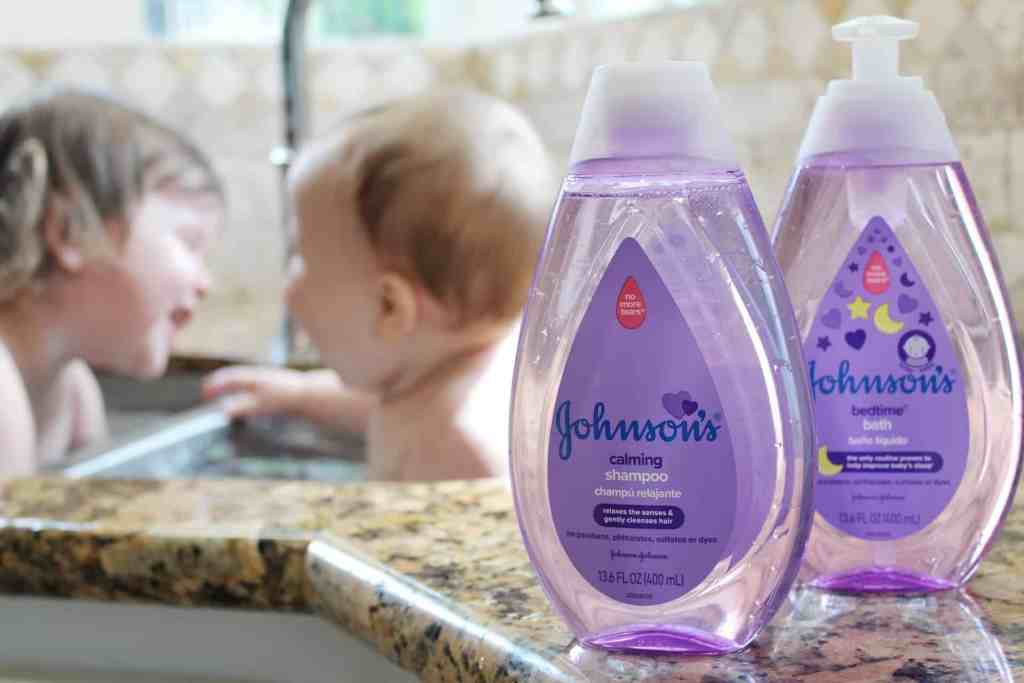 Our bedtime routine with Johnson's Baby