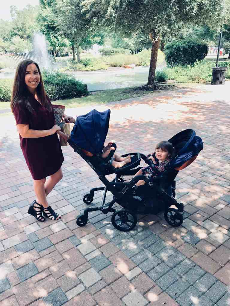 We absolutely love our Curve double stroller from Contours!