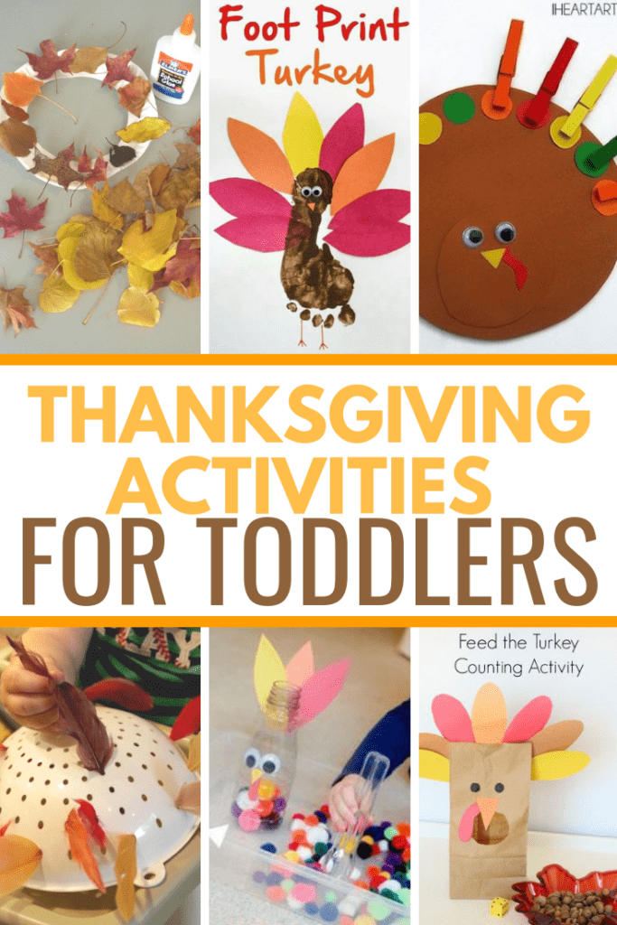 Thanksgiving Activities For Toddlers Little Learning Club