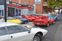 Ferraris at Festa Italia