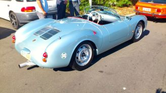 Porsche 550 Spyder at Classics By The Beach, Hobart