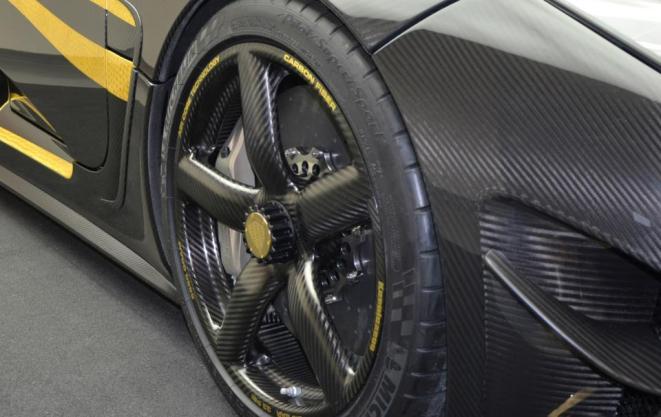 Koenigsegg Hundra Wheel