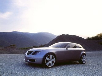Saab 9x Front View