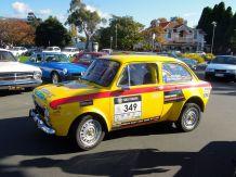Targa Tasmania Fiat Abarth