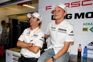 Porsche Team: Romain Dumas, Porsche Team: Marc Lieb