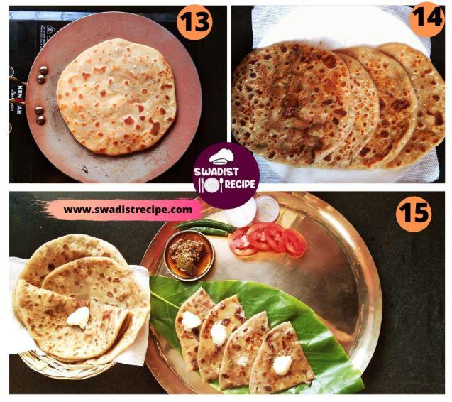 Alu Paratha Recipe Step 4