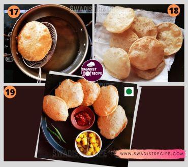 Hing Ki poori recipe Step 5