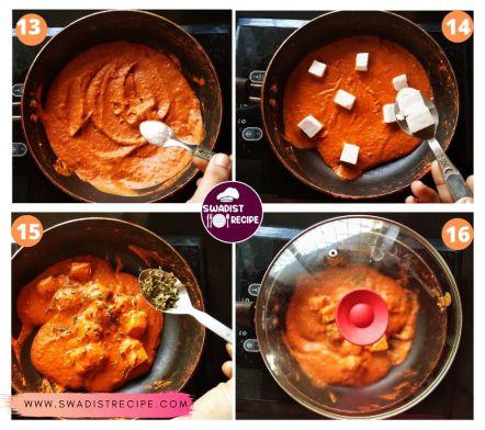 Paneer Butter Masala Recipe Step 4