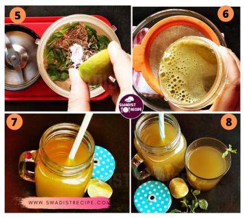 Pudina Nimbu Sharbat Recipe  Syep 2