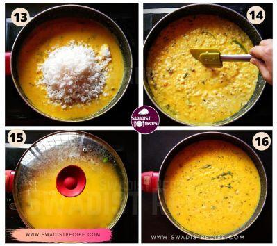 Gujarati kadhi khichdi Recipe Step 4