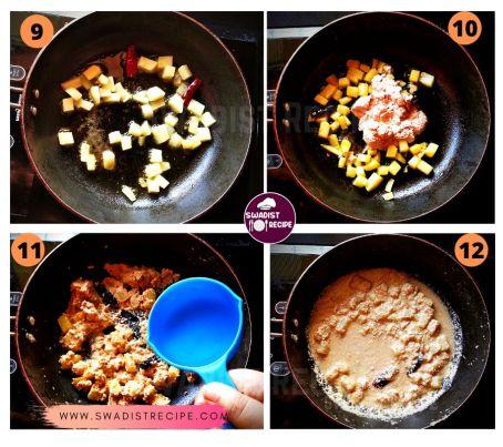 Satvik Alu posto Recipe Step 3