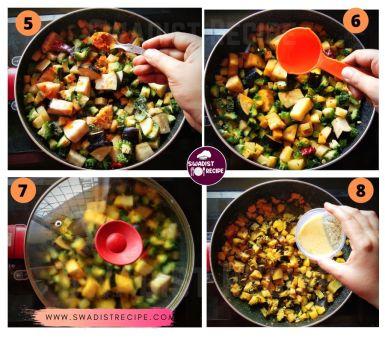 Satvik karela sabzi Recipe Step 2