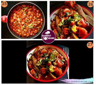 Soyabean Chilli Recipe Step 7