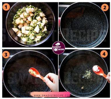 satvik  Barabati alu ki sabzi Recipe Step 1