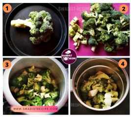 Broccoli Soup Recipe Step 1