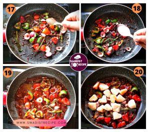 Idli chilli Recipe Step 5
