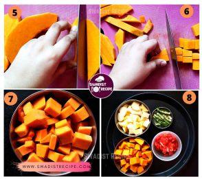 satvik Kumhra alu ki sabzi  Recipe Step 2