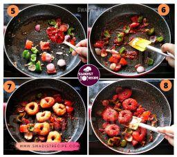 Medu vada schezwan Recipe Step 2