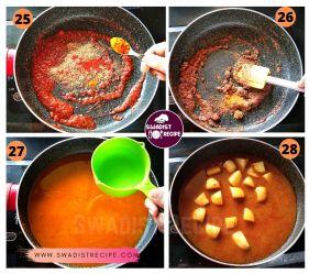 satvik Suran kofta Recipe Step 7