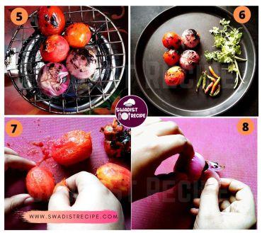 Bhune pyaz tamatar ki chutney Recipe Step 2