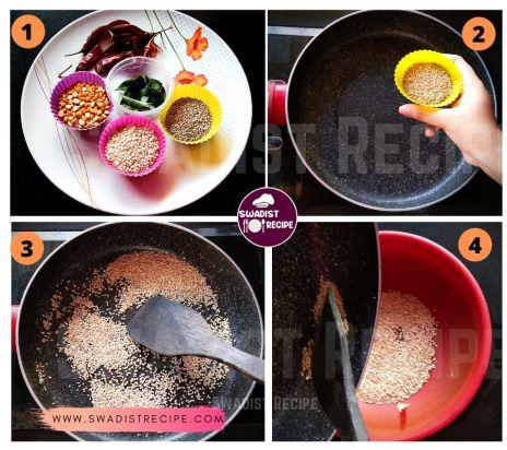 Malgapodi Recipe Step 1