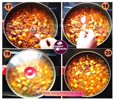 Kala chana Alu masala Recipe Step 5
