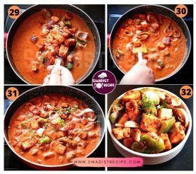 Paneer Tikka Masala Recipe Step 8