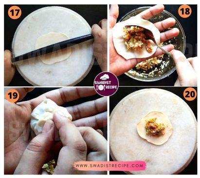 Veg Momo Recipe Step 5