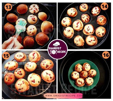 Eggless cup cake Recipe Step 4