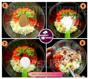 Veg manchurian Recipe Step 2