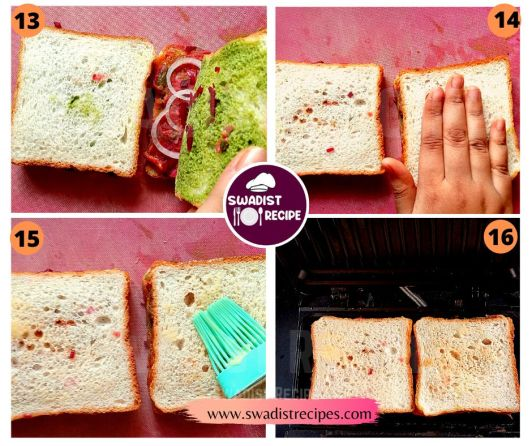 Bombay Masala Sandwich Recipe Step 4