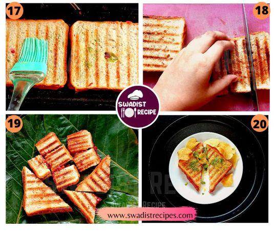 Bombay Masala Sandwich Recipe Step 5