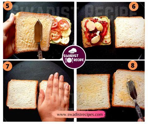 Bombay Sandwich Recipe Step 2