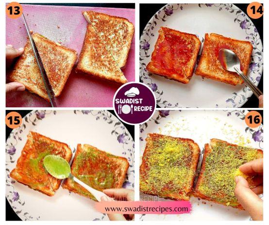 Bombay Sandwich Recipe Step 4