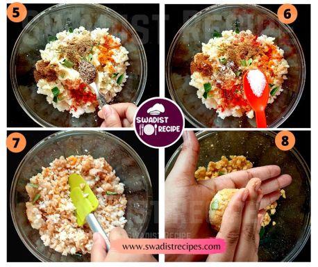 Poha Cutlet Recipe Step 2